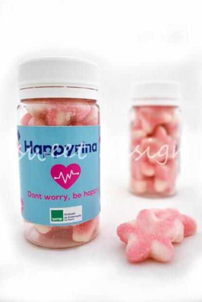 medicina dulce con mensaje corporativo
