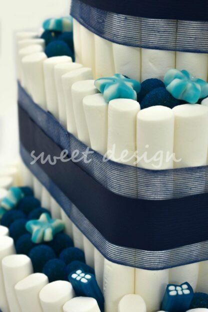 tartas con logo para eventos promocionales