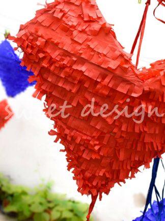 Piñata Artesana con forma de Corazón