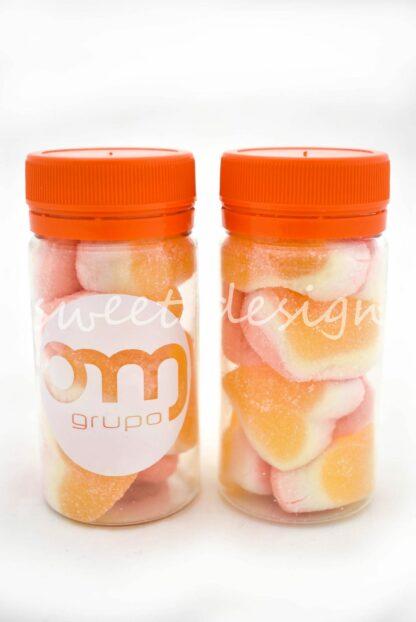 tarros con chuches personalizados para empresas