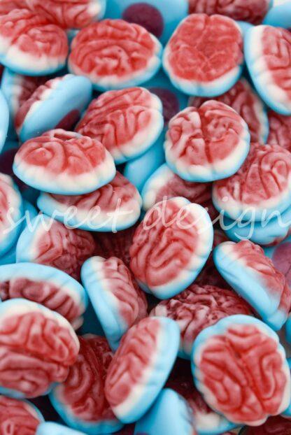 golosinas con forma de cerebros