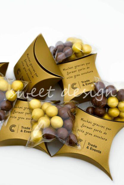 Bombonera con Chocolates