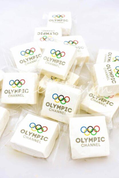 Marshmallow personalizado para eventos de empresa