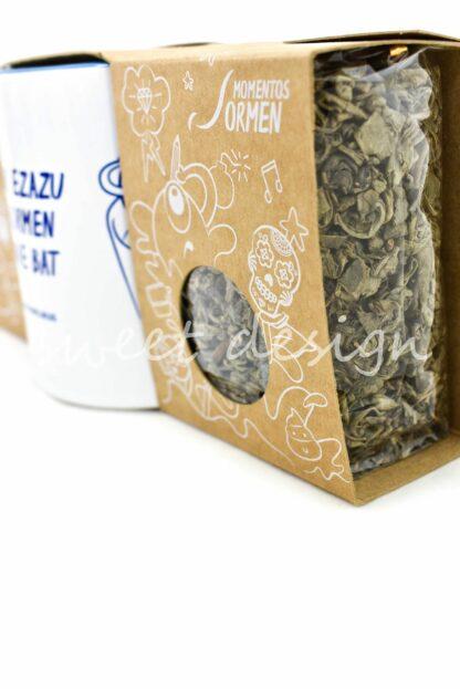 té y taza personalizada