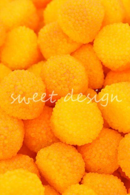 moras naranjas sabor limón