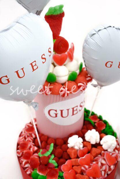 Tartas San Valentín con Globos