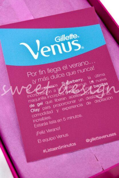 Estuche Maquinilla Venus de Gillette