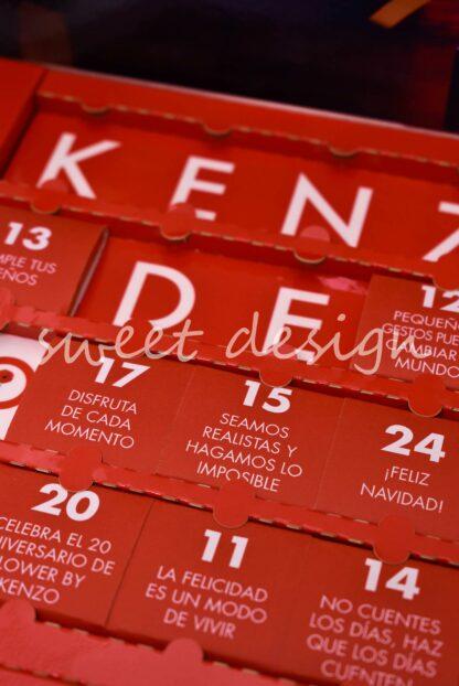 Calendario de chocolate navidad