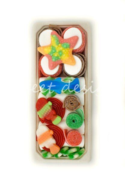 golosinas multicolor