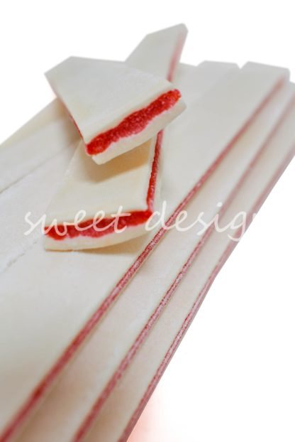 Sandwich de regaliz nata y fresa