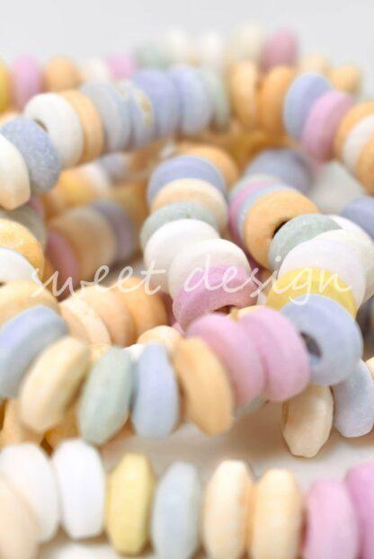 collares de caramelo de colores