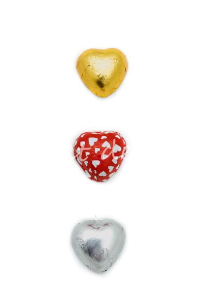 Bombones Corazón Surtidos Rojos
