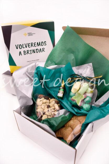 regalo promocional con golosinas